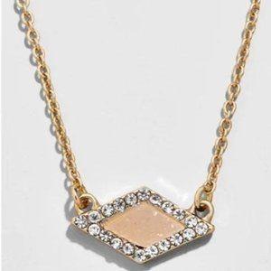 Baublebar Pave Blush Pendant Necklace